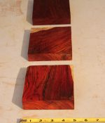 Cocobolo pot call blanks