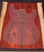 Cocobolo Electric Guitar Laminate Top Set